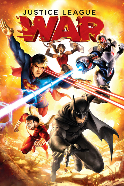 Animated movie Justice League: War poster