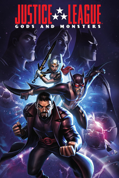 Animated movie Justice League: Gods and Monsters poster
