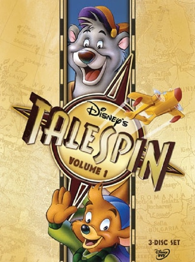 Animated movie TaleSpin poster