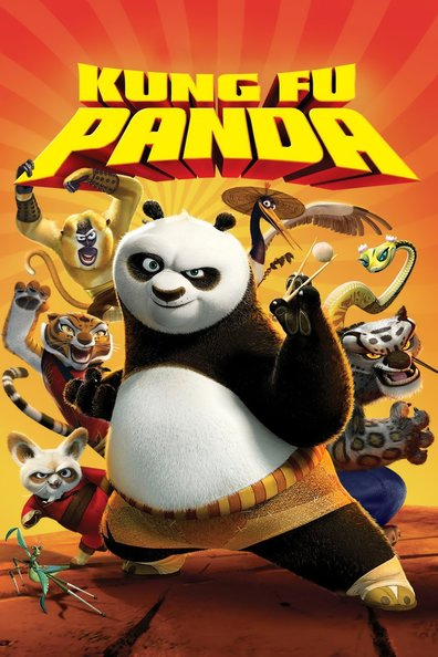 Animated movie Kung Fu Panda poster