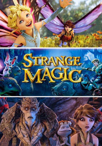 Animated movie Strange Magic poster