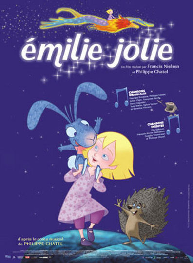 Animated movie Emilie jolie poster