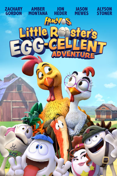 Animated movie Un gallo con muchos huevos poster