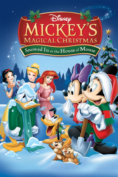Animated movie Mickey's Magical Christmas: Snowed in at the House of Mouse poster