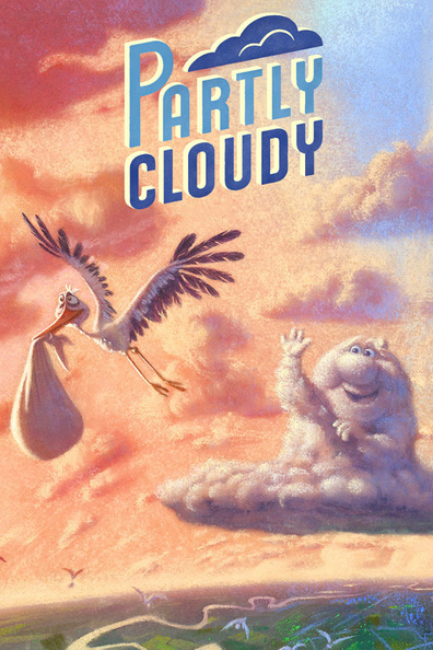 Animated movie Partly Cloudy poster