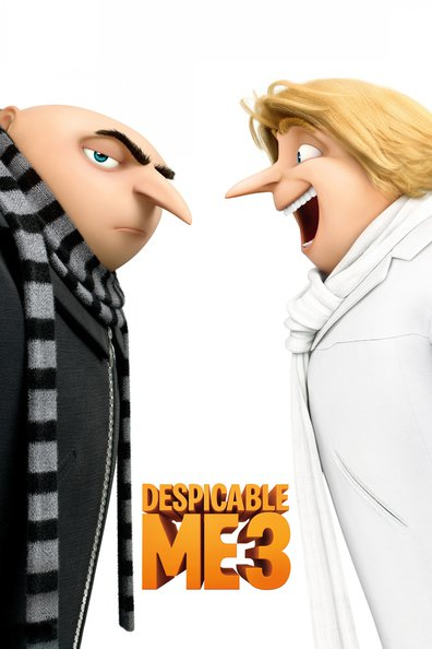 Animated movie Despicable Me 3 poster