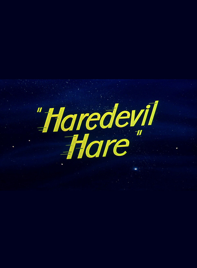 Animated movie Haredevil Hare poster