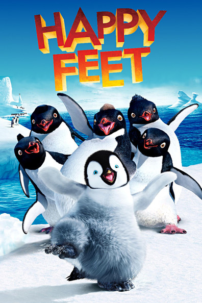 Animated movie Happy Feet poster