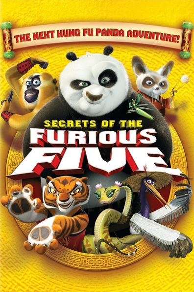 Animated movie Kung Fu Panda: Secrets of the Furious Five poster