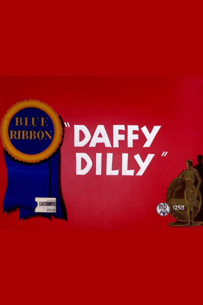Animated movie Daffy Dilly poster
