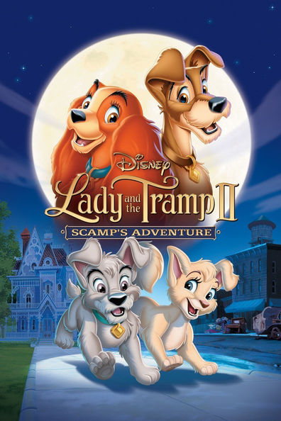 Animated movie Lady and the Tramp II: Scamp's Adventure poster