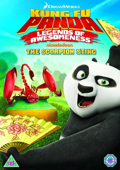 Animated movie Kung Fu Panda: Legends of Awesomeness poster