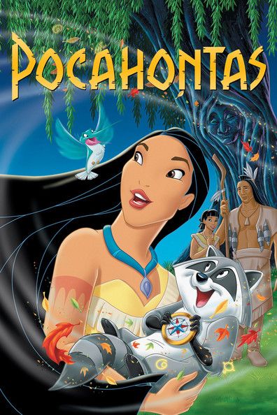 Animated movie Pocahontas poster