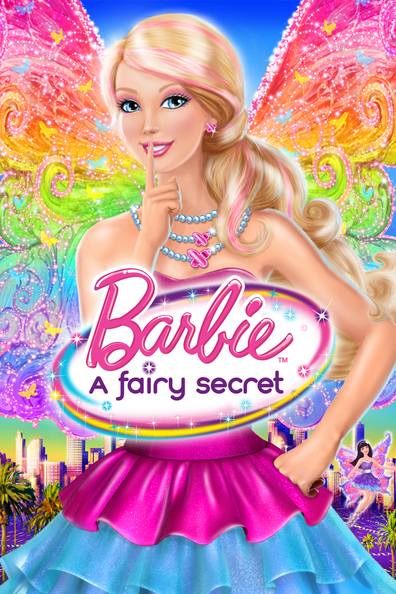 Animated movie Barbie: A Fairy Secret poster