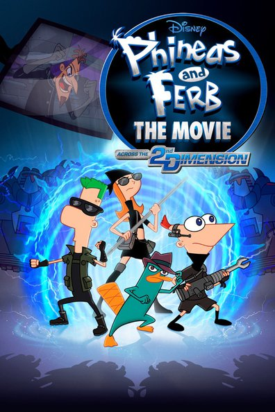 Phineas and Ferb the Movie: Across the 2nd Dimension cast, synopsis, trailer and photos.