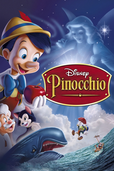 Animated movie Pinocchio poster