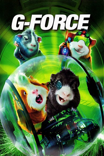 Animated movie G-Force poster