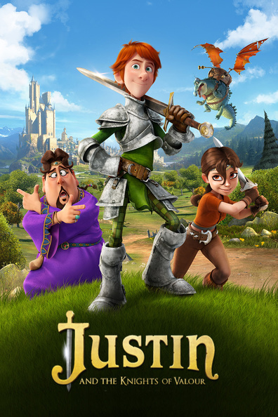 Justin and the Knights of Valour cast, synopsis, trailer and photos.
