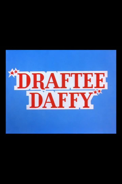 Animated movie Draftee Daffy poster