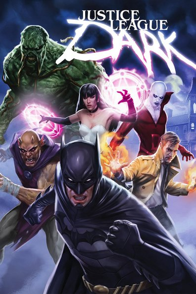 Animated movie Justice League Dark poster