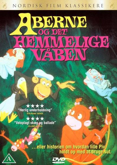 Aberne og det hemmelige vaben cast, synopsis, trailer and photos.