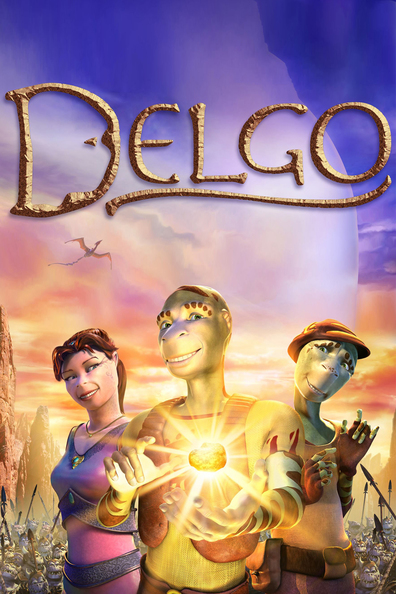 Animated movie Delgo poster