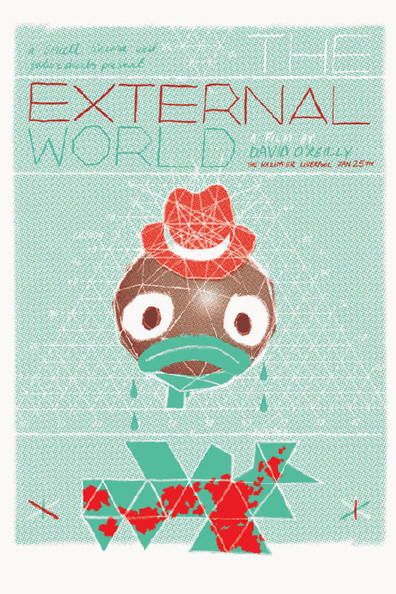 Animated movie The External World poster