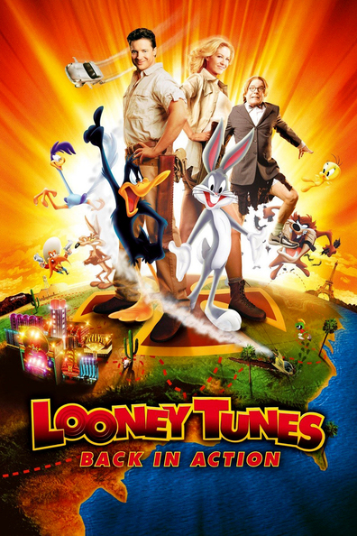 Animated movie Looney Tunes: Back in Action poster