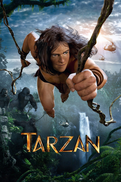 Animated movie Tarzan poster