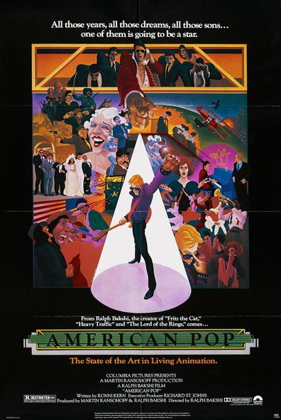 American Pop cast, synopsis, trailer and photos.