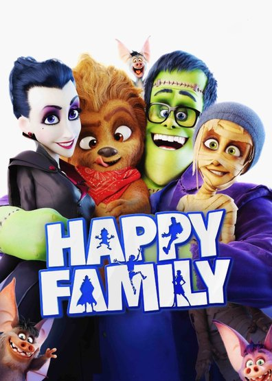Animated movie Happy Family poster