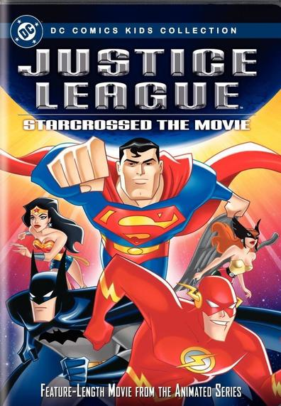 Animated movie Justice League poster