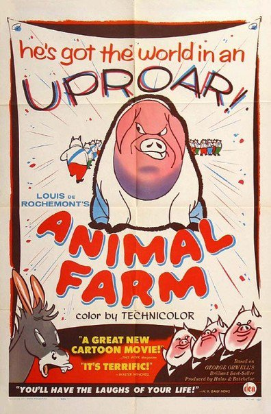 Animal Farm cast, synopsis, trailer and photos.