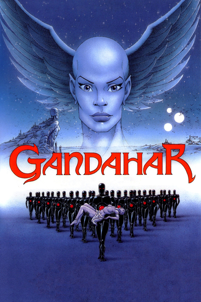 Animated movie Gandahar poster
