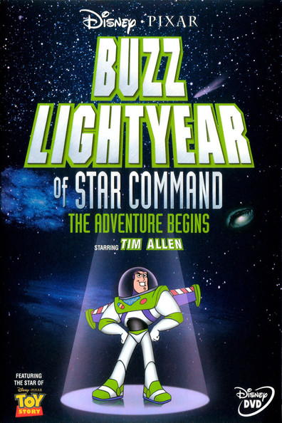Animated movie Buzz Lightyear of Star Command poster