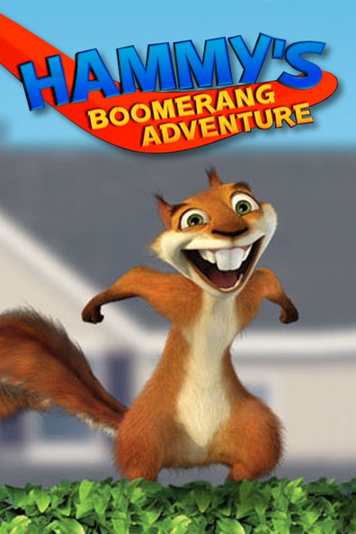 Animated movie Hammy's Boomerang Adventure poster