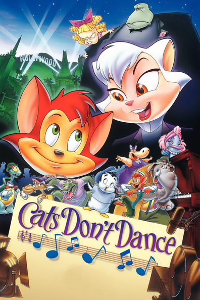 Animated movie Cats Don't Dance poster