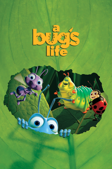 Animated movie A Bug's Life poster