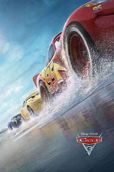 Animated movie Cars 3 poster