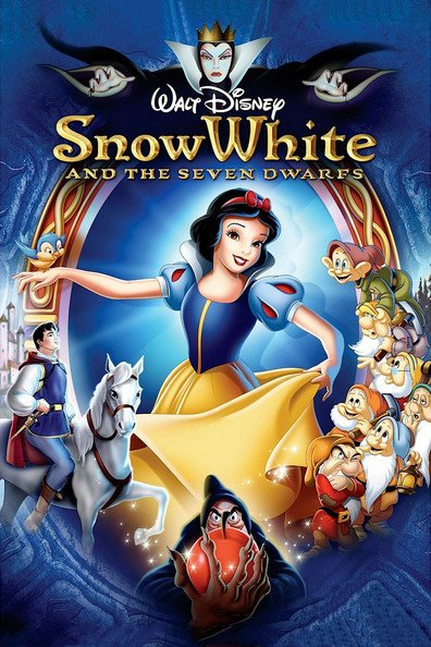 Animated movie Snow White and the Seven Dwarfs poster