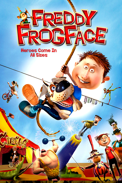 Animated movie Orla Frosnapper poster