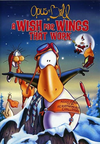 Animated movie A Wish for Wings That Work poster