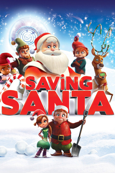 Animated movie Saving Santa poster