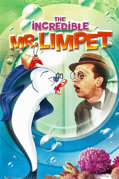Animated movie The Incredible Mr. Limpet poster