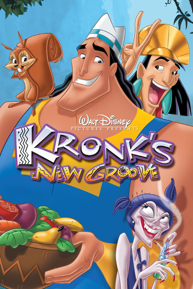 Animated movie Kronk's New Groove poster