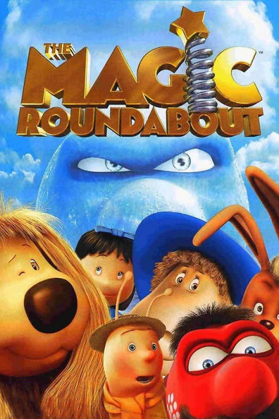 Animated movie The Magic Roundabout poster