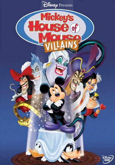 Animated movie Mickey's House of Villains poster