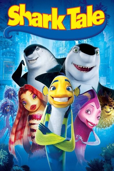 Animated movie Shark Tale poster