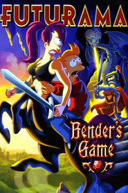 Futurama: Bender's Game is similar to Saki Achiga-hen episode of side-A.