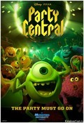 Animated movie Party Central poster